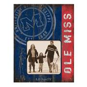 4X4 OLE MISS PICTURE FRAME