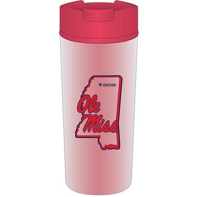 OM MS FROST FINISH TUMBLER RED