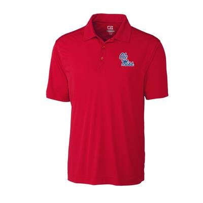 OM DRYTEC NORTHGATE POLO RED