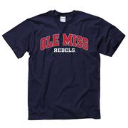SS ARCHED OLE MISS REBELS TEE