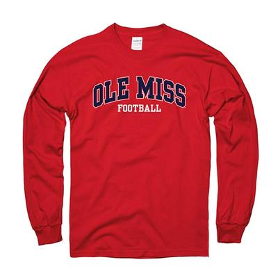 Ls Arched Ole Miss Rebels Tee