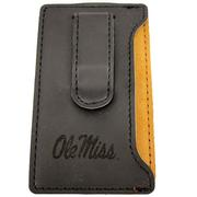 VELOUR CELLPHONE CARD HOLDER BLACK