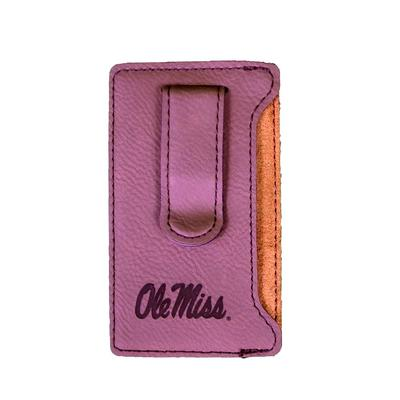 VELOUR CELLPHONE CARD HOLDER