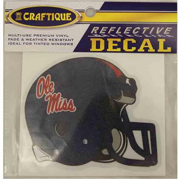 4in Reflective Om Helmet Decal
