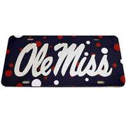 POLKA DOT OLE MISS TAG