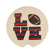 LOVE FBALL STONE CAR COASTER