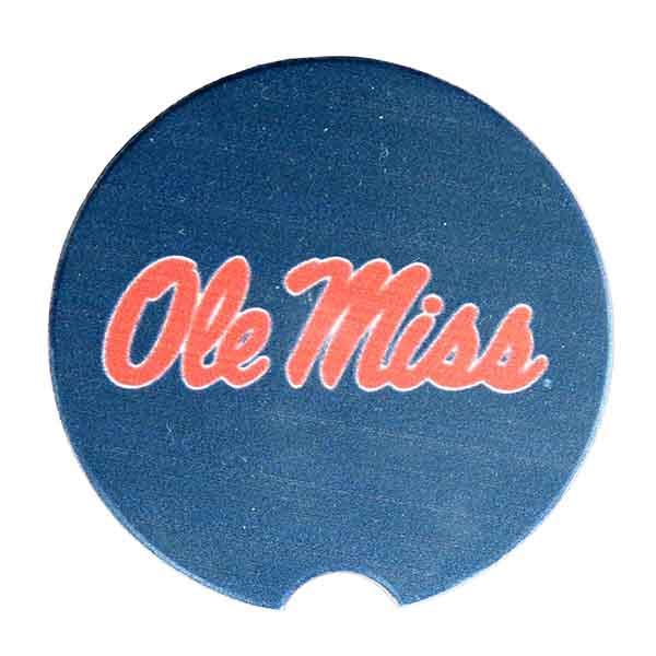 Ole Miss Stone Car Coaster
