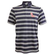 OM UA PERFORMANCE STRIPE POLO