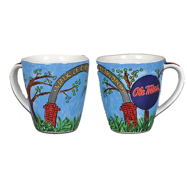 Om Walk Of Champ Mug