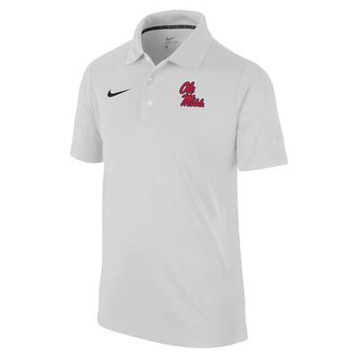 BOYS VARSITY POLO WHITE