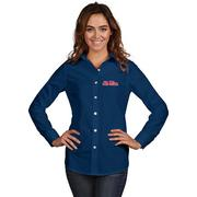 WOMENS DYNASTY BUTTON DOWN
