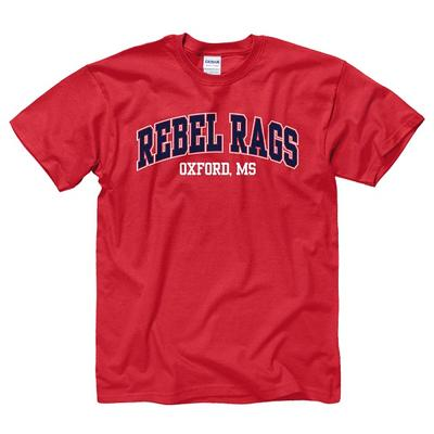 REBEL RAGS OXFORD MS SS TEE