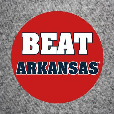 BEAT ARKANSAS BUTTON