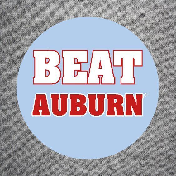 Beat Auburn Button