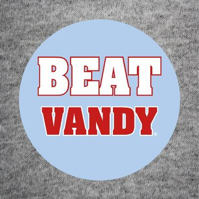 BEAT VANDY BUTTON CAROLINA_BLUE