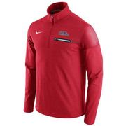 COL ELITE COACHES HALF ZIP TOP