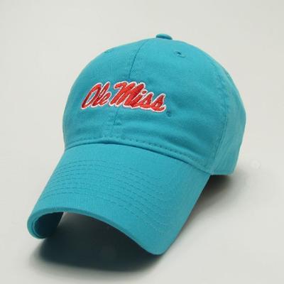 WOMENS AQUA BLUE OM CAP