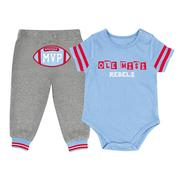 INFANT MVP ONESIE AND PANT SET OMRBL