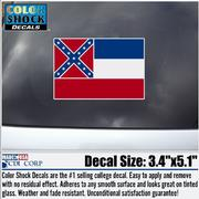 MS STATE FLAG DECAL
