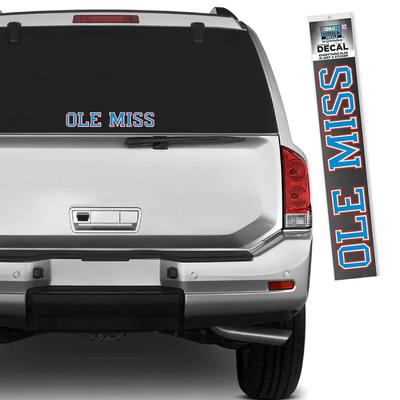CAROLINA BLUE BLOCK OM DECAL