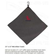 OM 15X15 MICROFIBER GOLF TOWEL