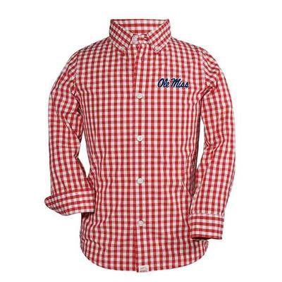 Infant Logan Ls Gingham Shirt
