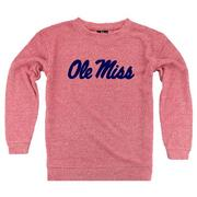 OLE MISS LADIES COZY CREW
