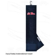 OLE MISS EMBROIDERED TOWEL