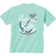 SS OLE MISS ANCHORED TEE