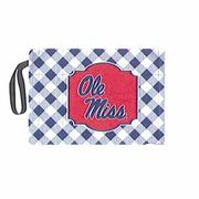 GINGHAM OM STADIUM CUSHION