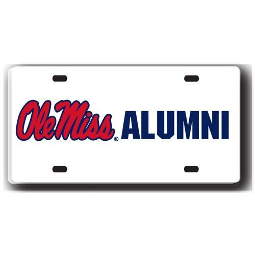 Ole Miss Alumni License Plate