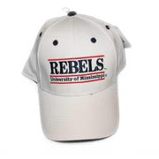 WHITE GAME BAR CAP REBELS WHITE
