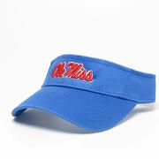 PACIFIC BLUE OM RELAXED TWILL VISOR PACBL