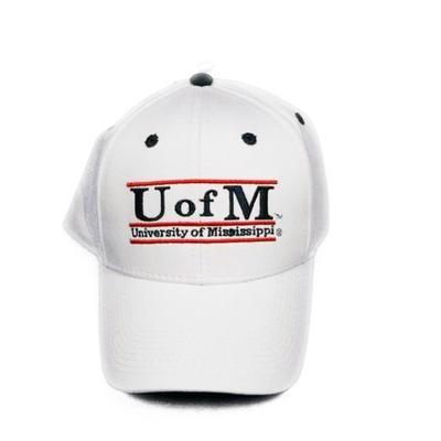 WHITE GAME BAR CAP U OF M