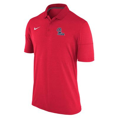 MENS OM DRY POLO RED
