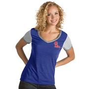 WOMENS RIVAL VNECK TEE ROYWH
