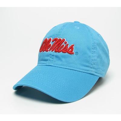 AQUA BLU YTH RELAXED TWILL CAP