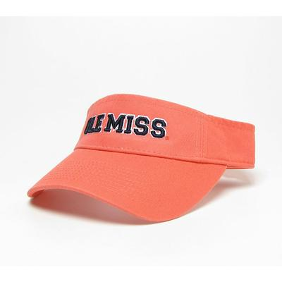 CORAL RELAXED TWILL VISOR