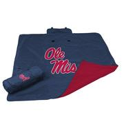 OLE MISS ALL WEATHER BLANKET