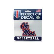 4X5 OM VOLLEYBALL DECAL
