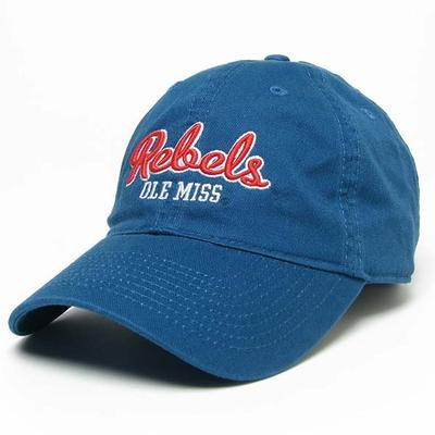 Marine Blue Relaxed Twill Cap