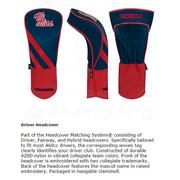 OLE MISS DRIVER HEADCOVER