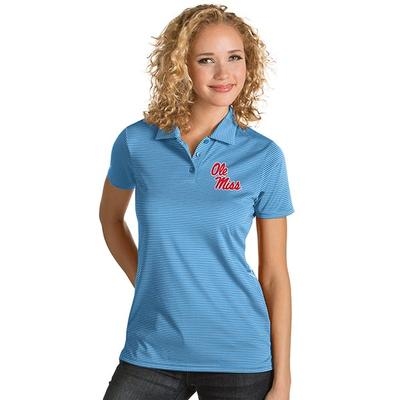 WOMENS QUEST POLO COLUMBIA_BLUE