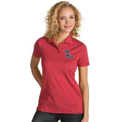WOMENS QUEST POLO RED