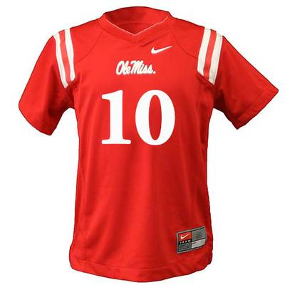 Kids Rep 10 Football Jersey