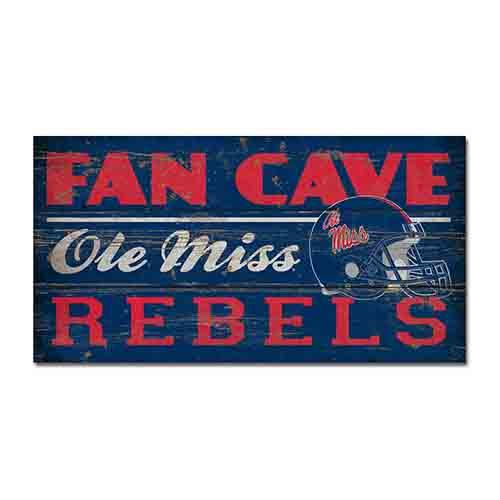 11x20 Man Cave Wood Plank Sign
