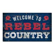 14X24 REBEL COUNTRY WOOD SIGN