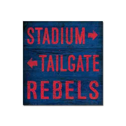 10x10 Stadium Tailgate Sign