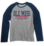 MENS LS RAGLAN WASHED TEE