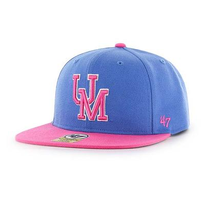 BZA LIL SHOT TWO TONE CPT CAP BLUE_RAZ_PINK